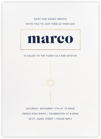 Momentous - Paperless Post - Bat and Bar Mitzvah Invitations