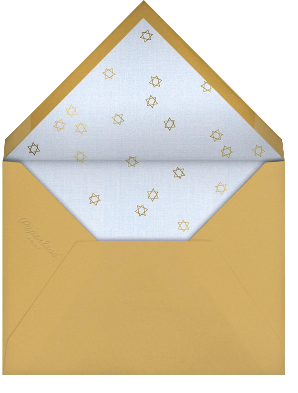 Virtual Mitzvah (Bat) - Blue - Paperless Post - Bat and bar mitzvah - envelope back