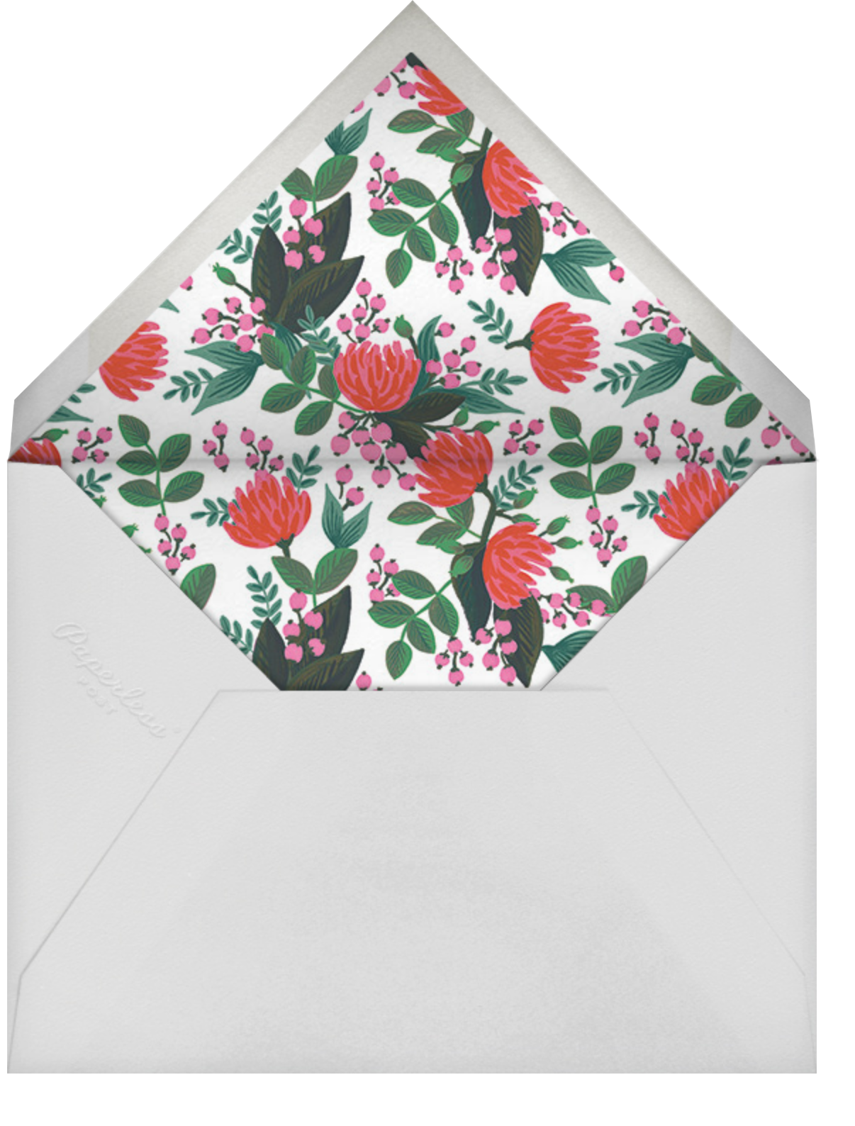 Floral Canopy - Rifle Paper Co. - Cameo - envelope back