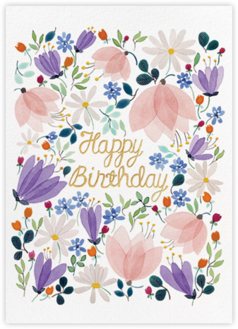 Birthday Whispers (Anna Emilia Laitinen) - Red Cap Cards -