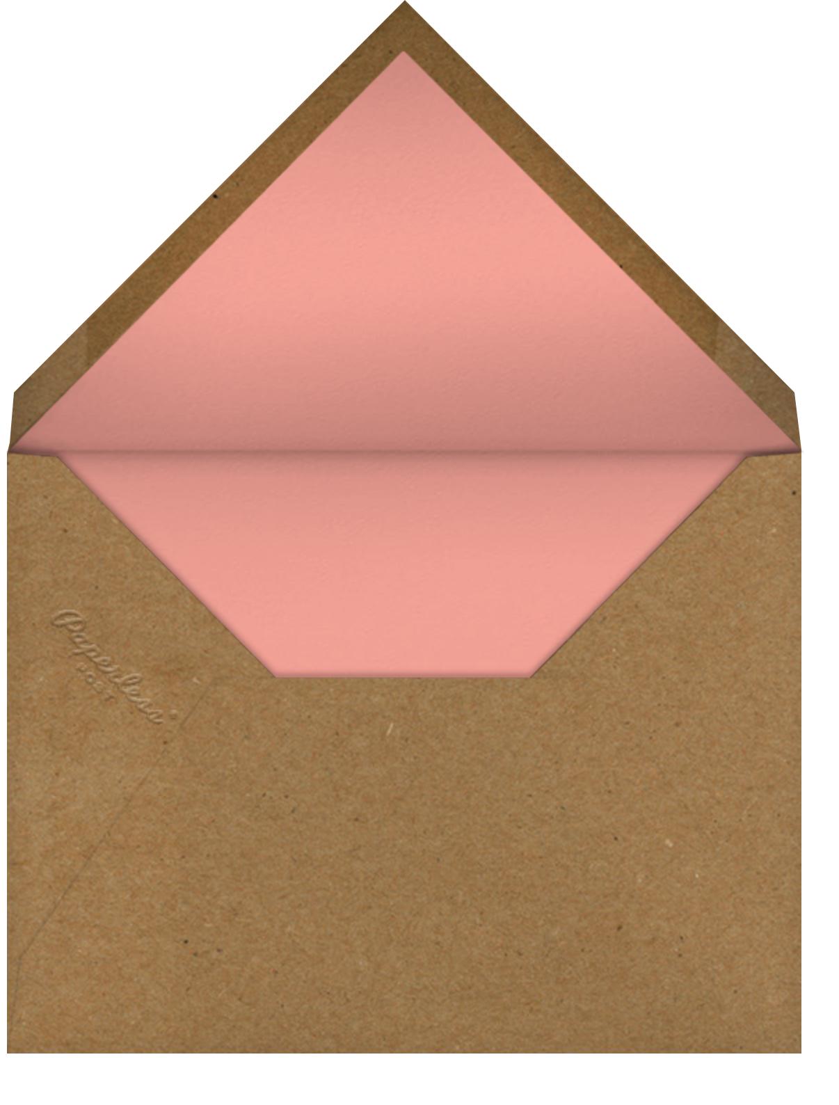 Teacup Cat (Anke Weckmann) - Red Cap Cards - Cameo - envelope back