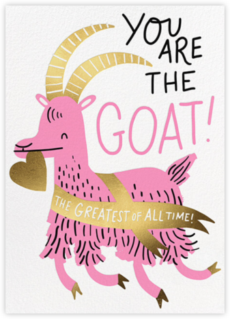 The GOAT - Hello!Lucky - Valentine's Day Cards