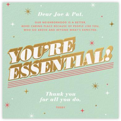 Essential Gratitude - Paperless Post -
