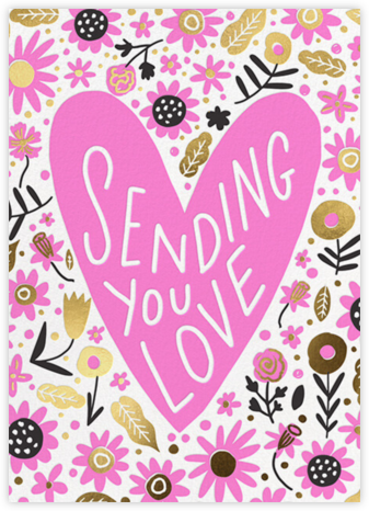 Field of Flowers - Hello!Lucky - Valentine's Day Cards