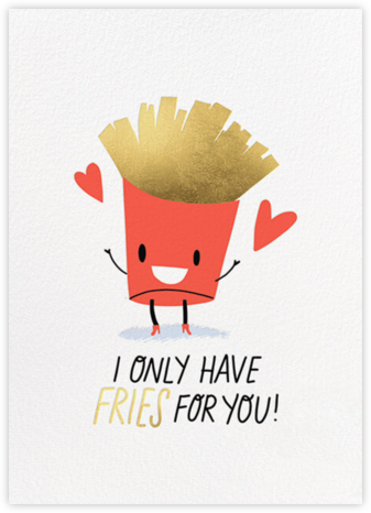 Deep-Fried Love - Hello!Lucky - Valentine's Day Cards