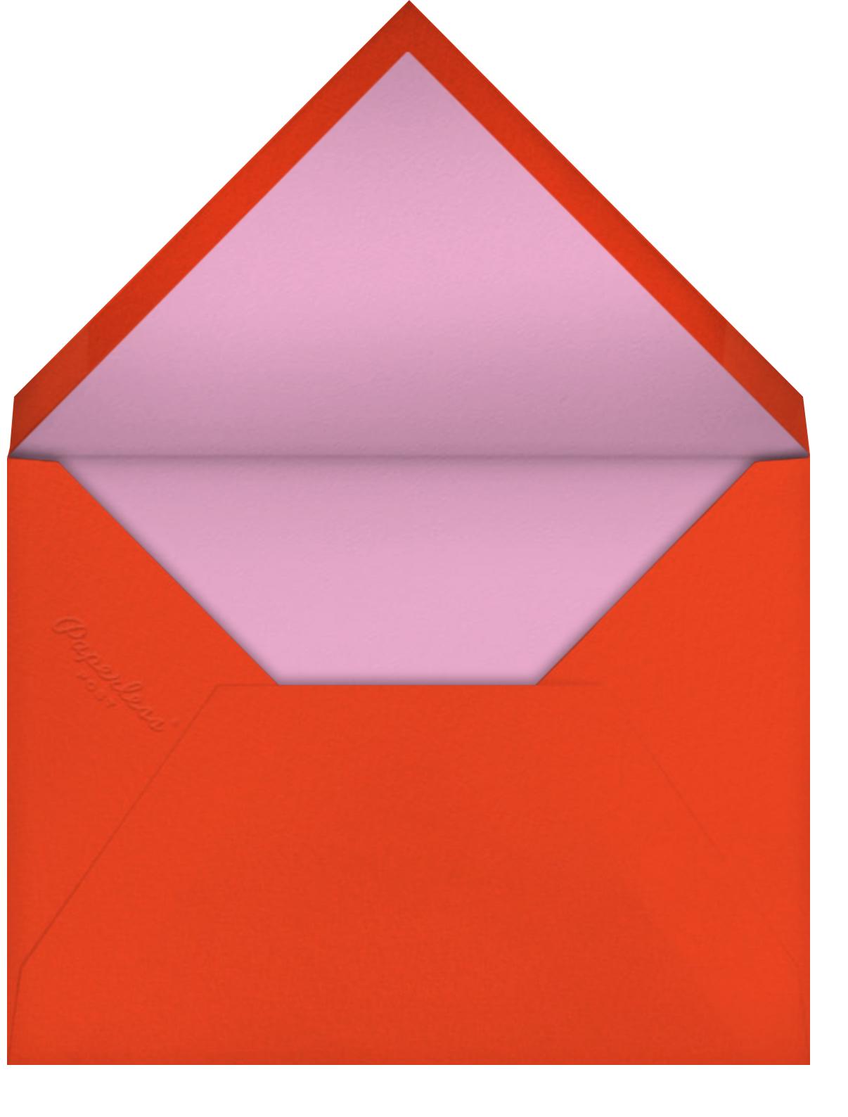 Heart Masks - Hello!Lucky - Valentine's Day - envelope back