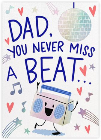 Bust a Move - Hello!Lucky - Father's Day Cards