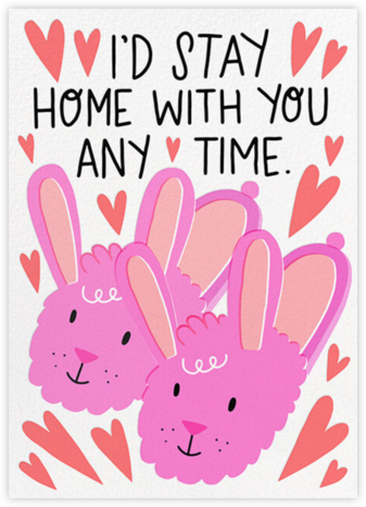 Home Bunnies - Hello!Lucky - Valentine's Day Cards