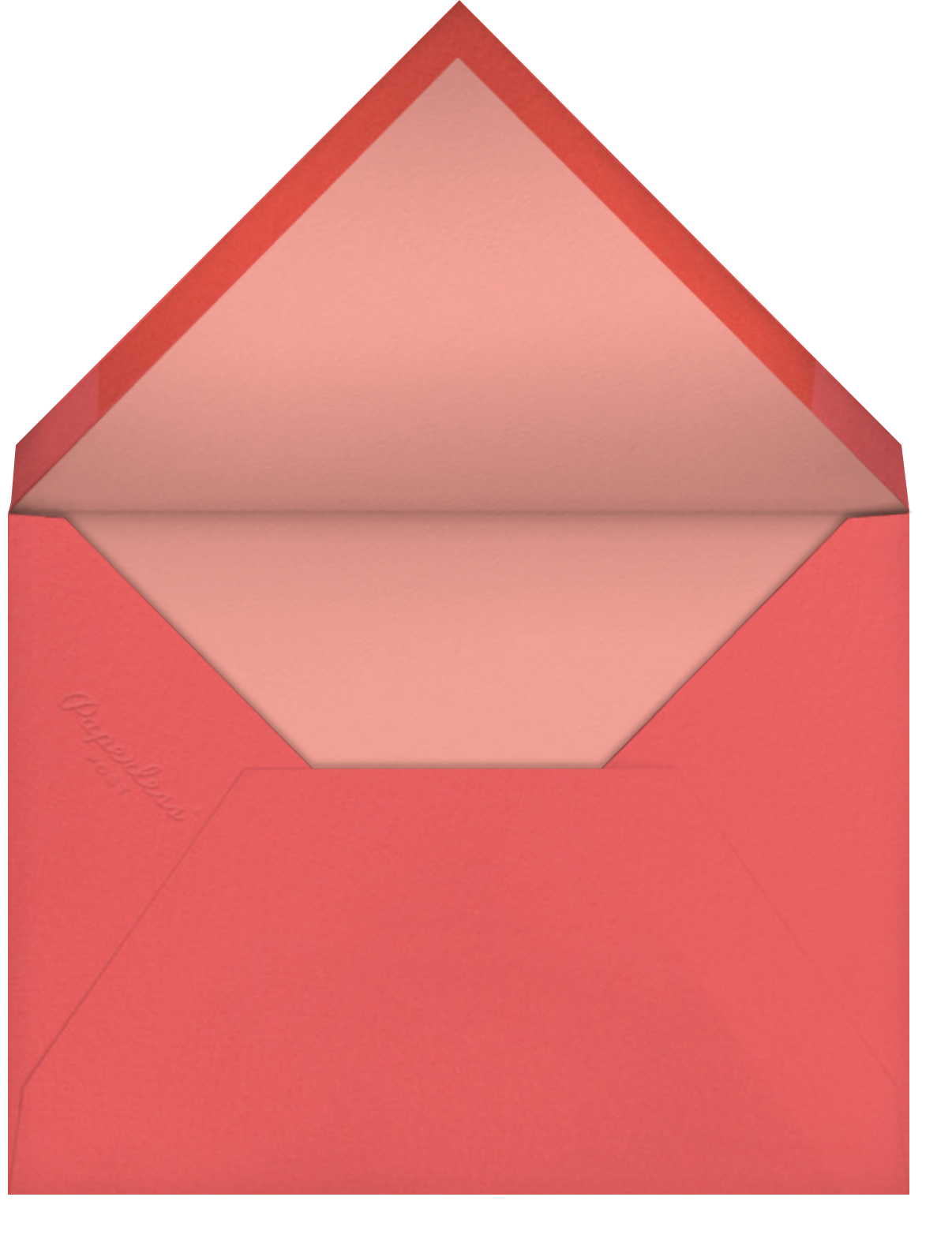 Home Bunnies - Hello!Lucky - Valentine's Day - envelope back