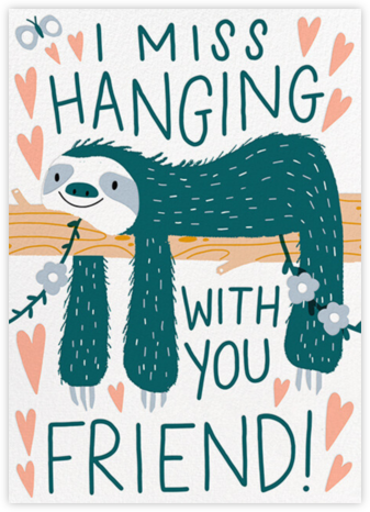 Hang Tight - Hello!Lucky - Covid greeting cards