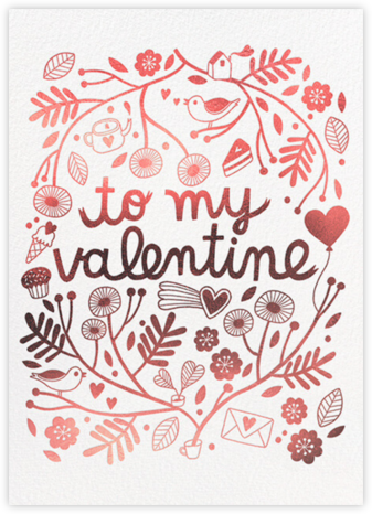 Favorite Things (Anke Weckmann) - Red Cap Cards - Valentine's Day Cards