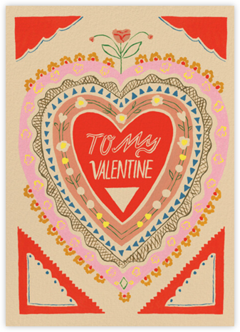 Vibrant Love (Emily Isabella) - Red Cap Cards - Valentine's Day Cards