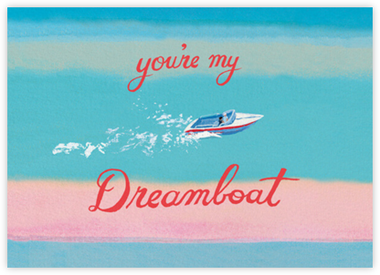 Dreamboat (Danielle Kroll) - Red Cap Cards - Valentine's Day Cards