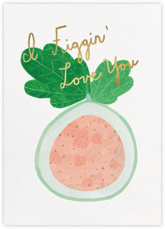 Figgin' Love (Kate Pugsley) - Red Cap Cards -
