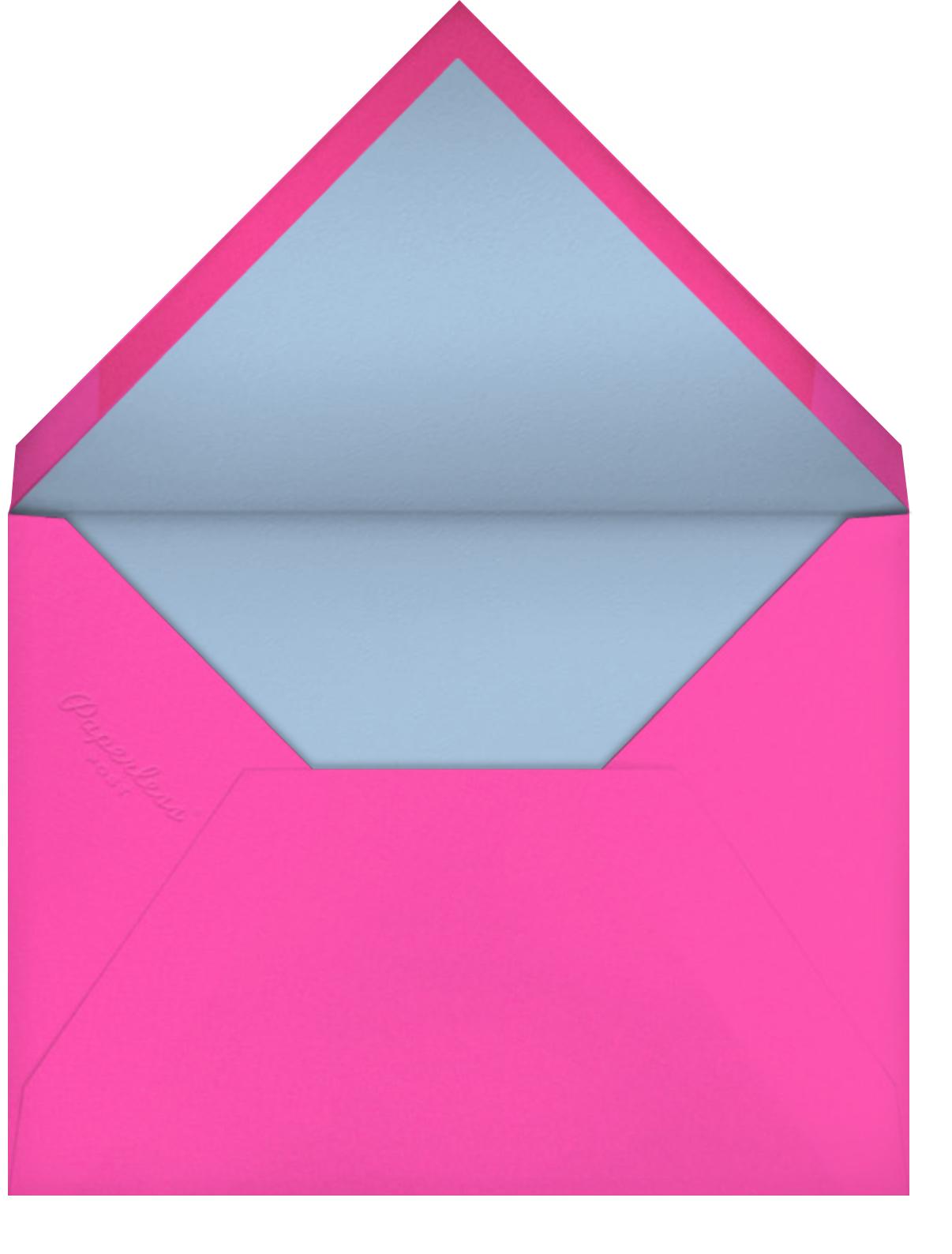So Lit (Nolan Pelletier) - Red Cap Cards - Valentine's Day - envelope back