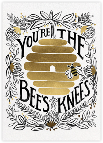 You're the Bee's Knees - Rifle Paper Co. - Valentine's Day Cards