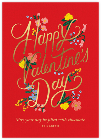 Rouge Valentine's Day - Rifle Paper Co. - Valentine's Day Cards