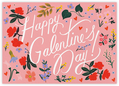 Wildwood Galentine's Day - Rifle Paper Co. - Valentine's Day Cards