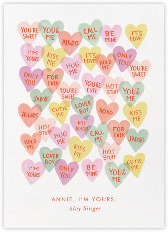 Candy Hearts - Rifle Paper Co. -