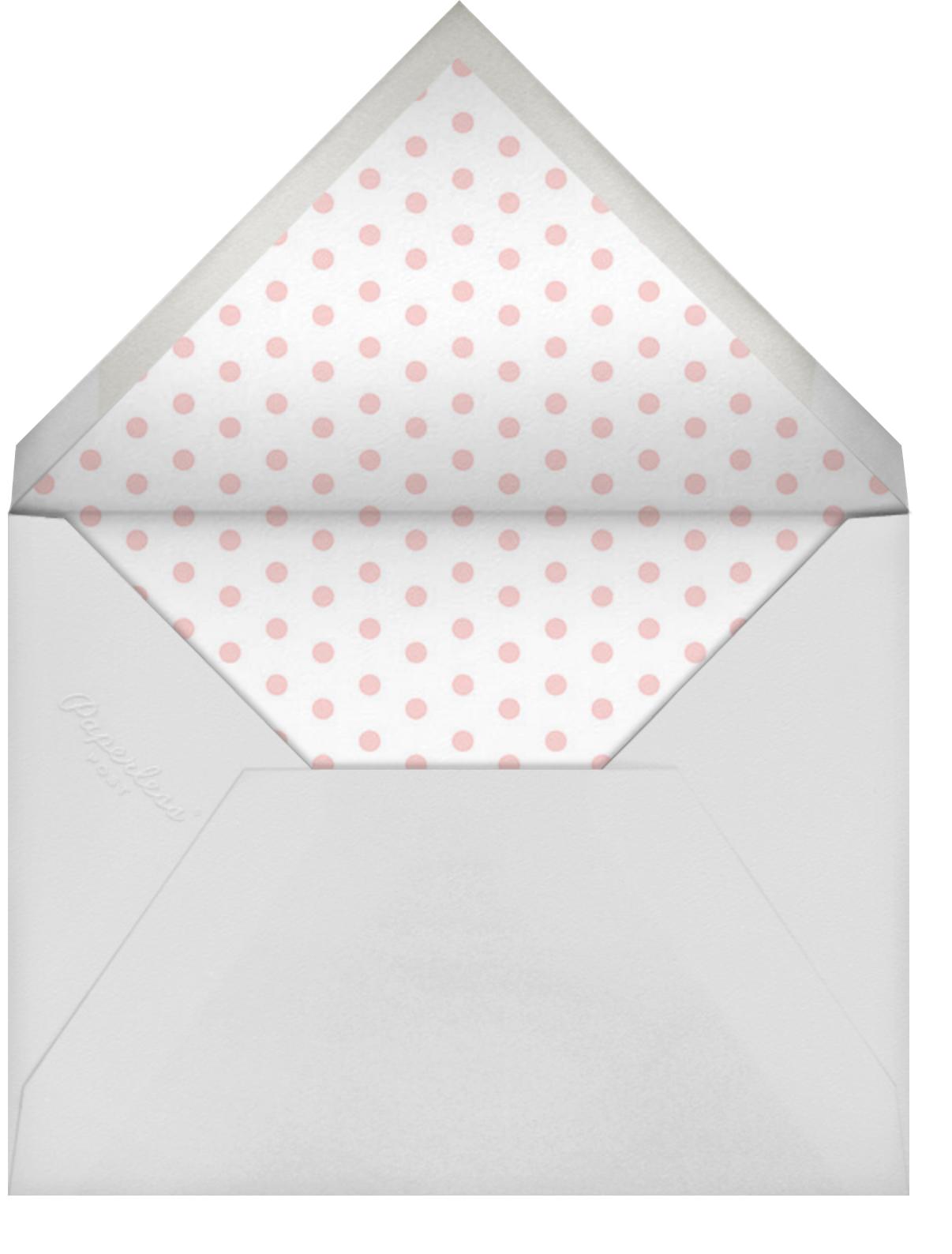 Heart Blossom Valentine's Day - Rifle Paper Co. - Valentine's Day - envelope back