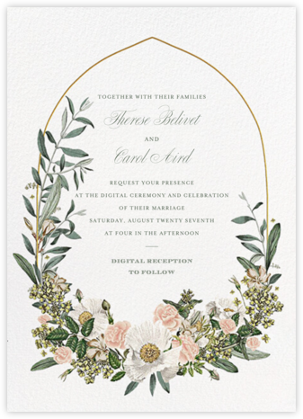 Mirabelle (Invitation) - Paperless Post - Virtual Wedding Invitations