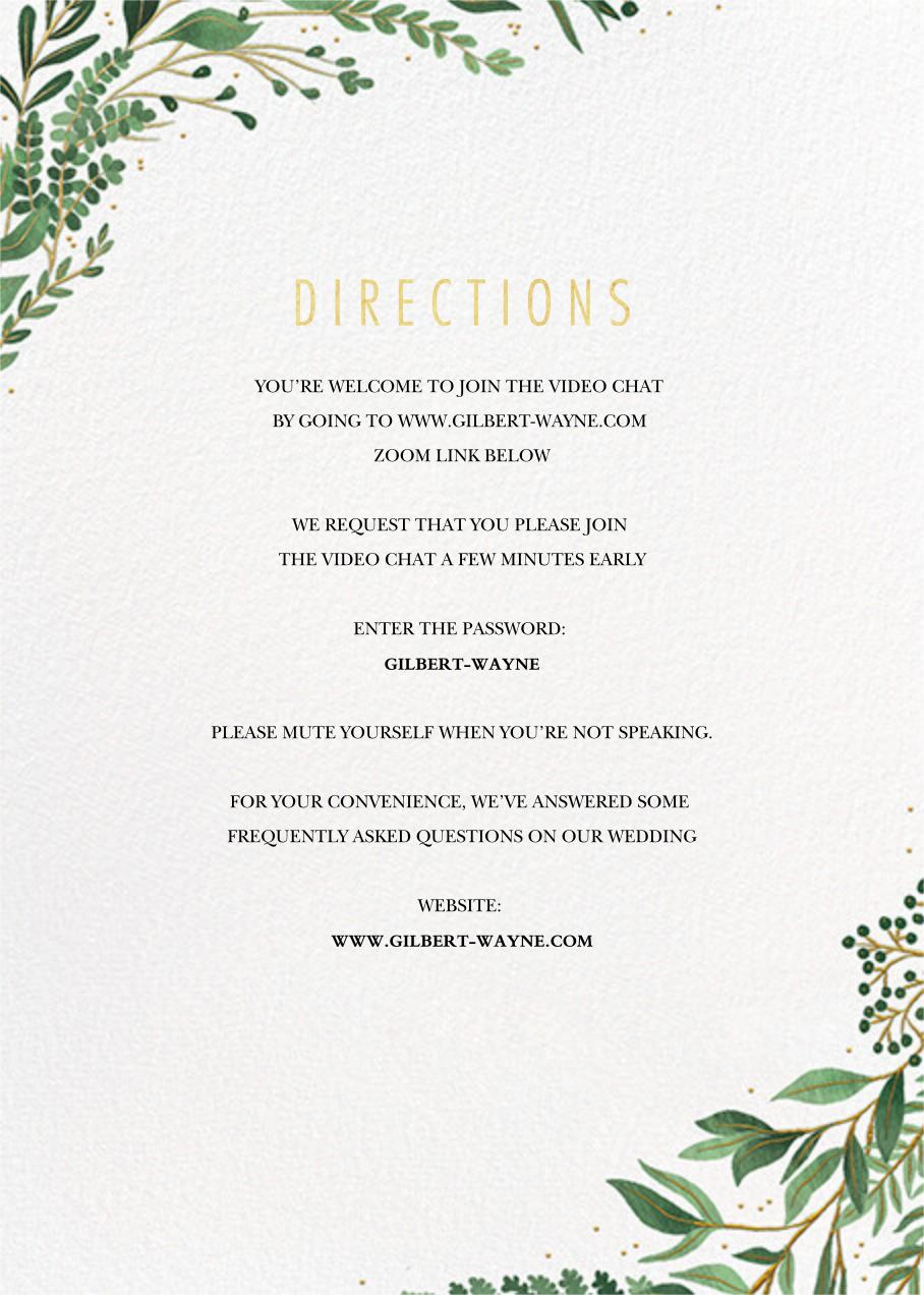 Verde (Invitation) - Paperless Post - All - insert front