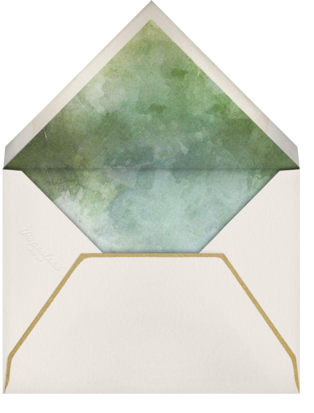 Verde (Invitation) - Paperless Post - Baby shower - envelope back