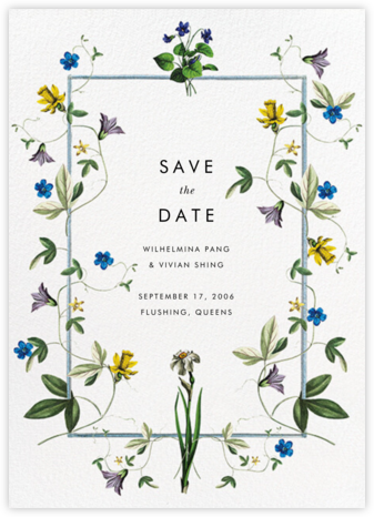 Daffodils - Stephanie Fishwick - Save the dates