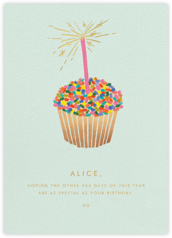 Cupcake Birthday - Rifle Paper Co. -