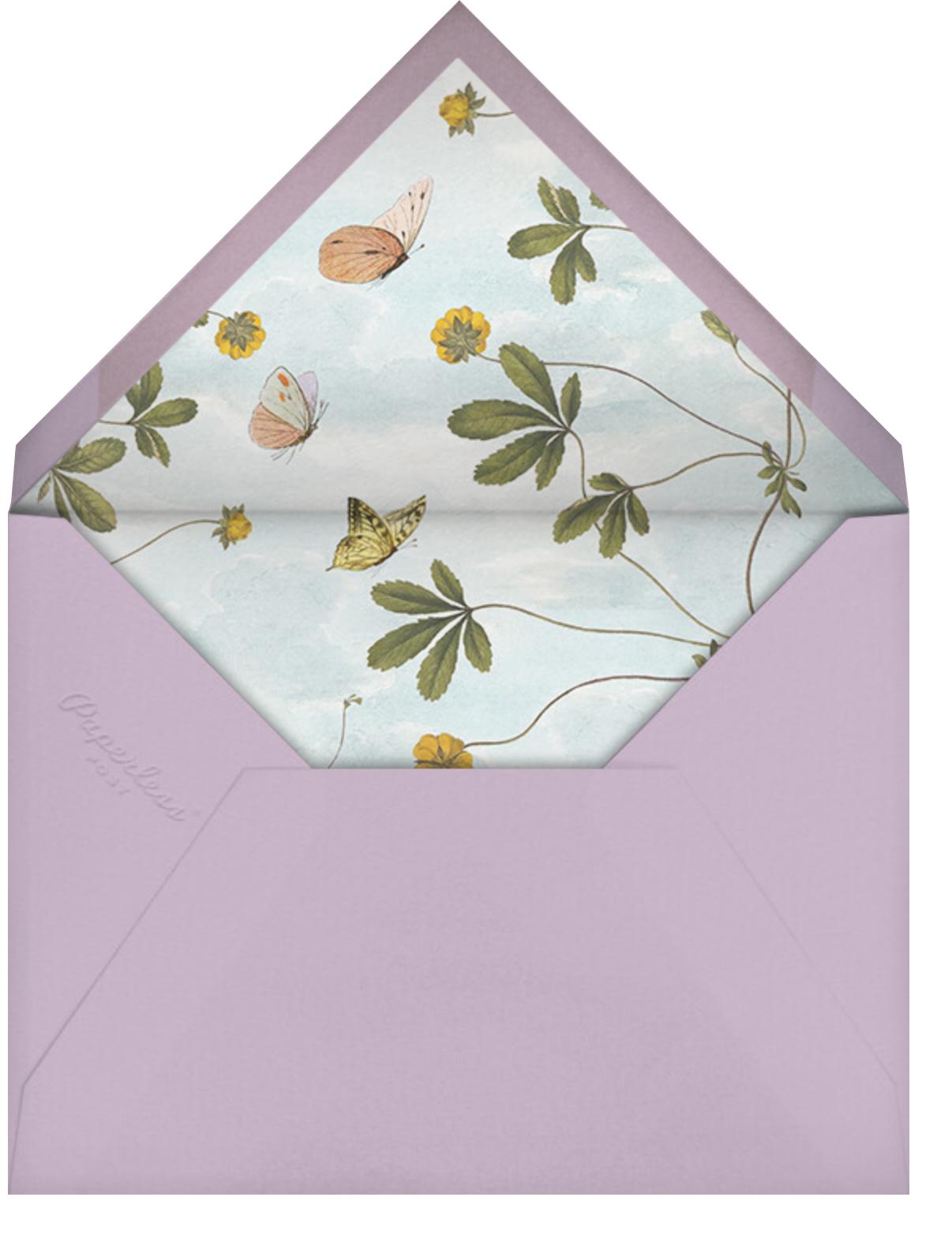 Herbaceous (Invitation) - Stephanie Fishwick - All - envelope back