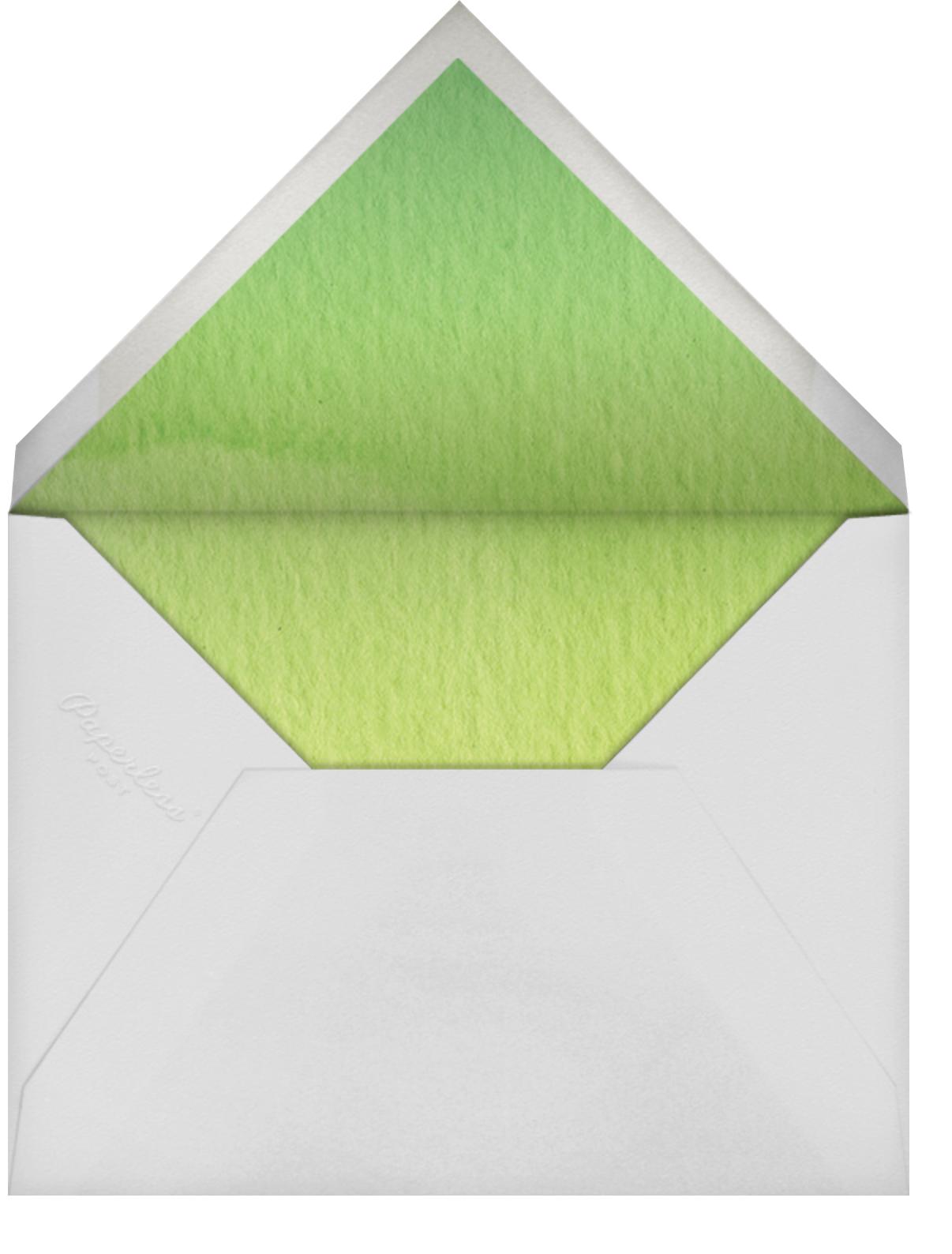 Hydrangea Fields (Invitation) - Felix Doolittle - All - envelope back