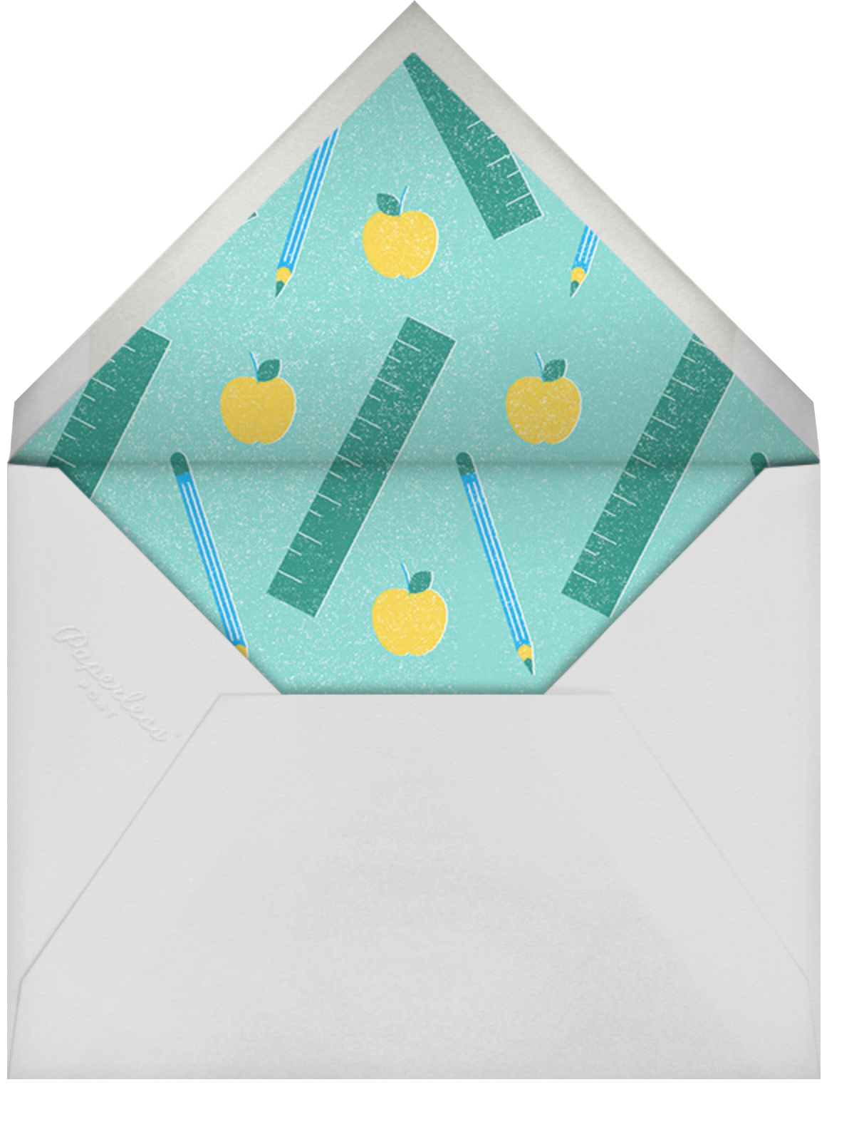 Certified Teacher - Paperless Post - Thank you - envelope back