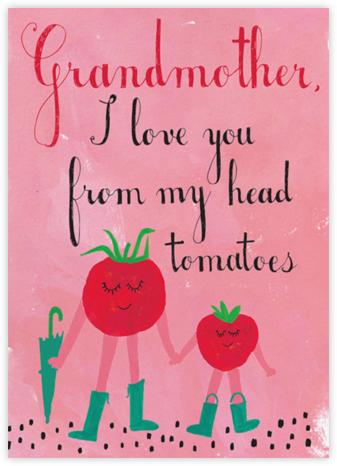 Tomatoes Love Tomatoes - Mr. Boddington's Studio -