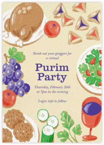 Purim Seudah - Paperless Post -