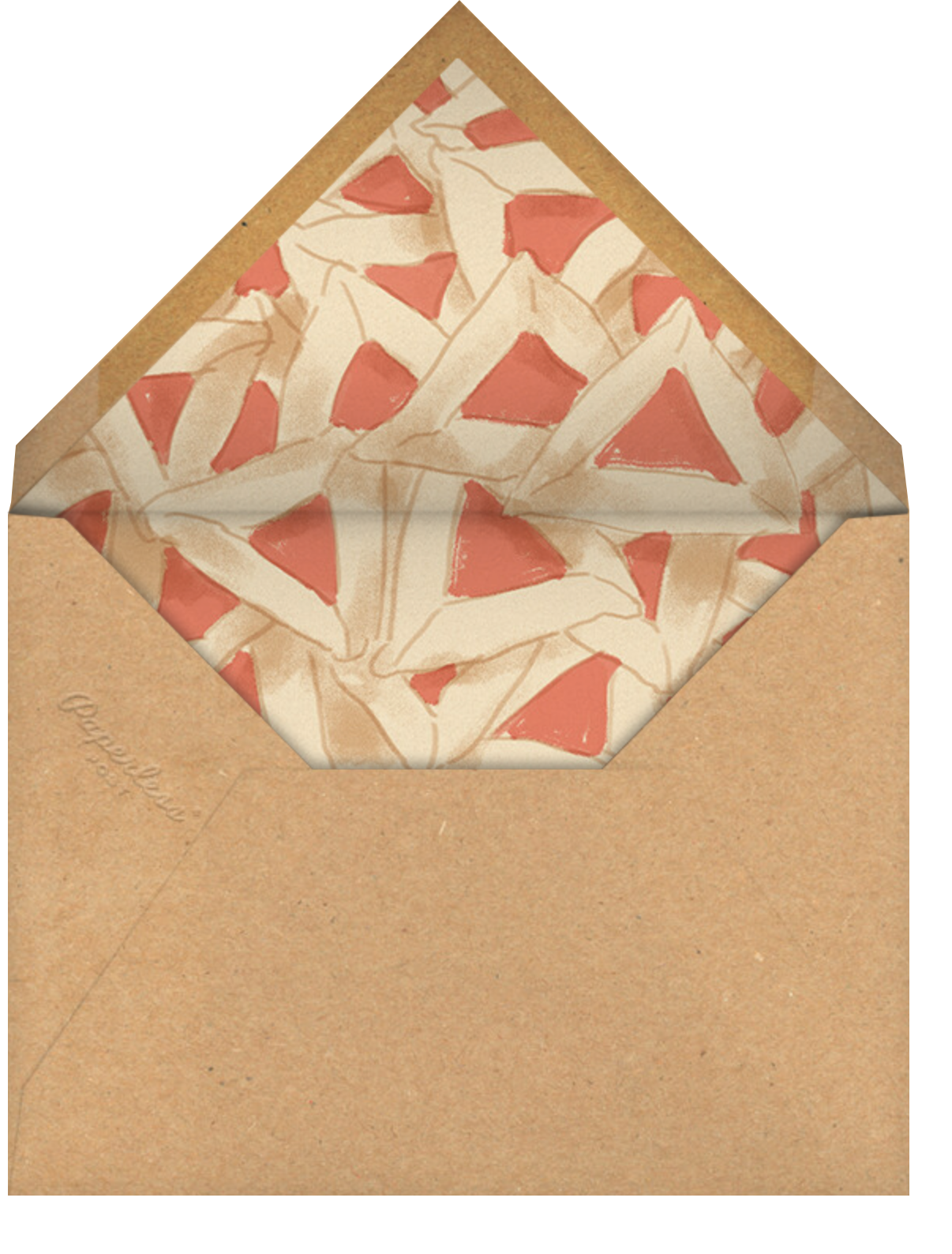 Apricot Filling - Paperless Post - Envelope
