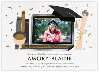 Captop Photo - Paperless Post - Graduation Party Invitations