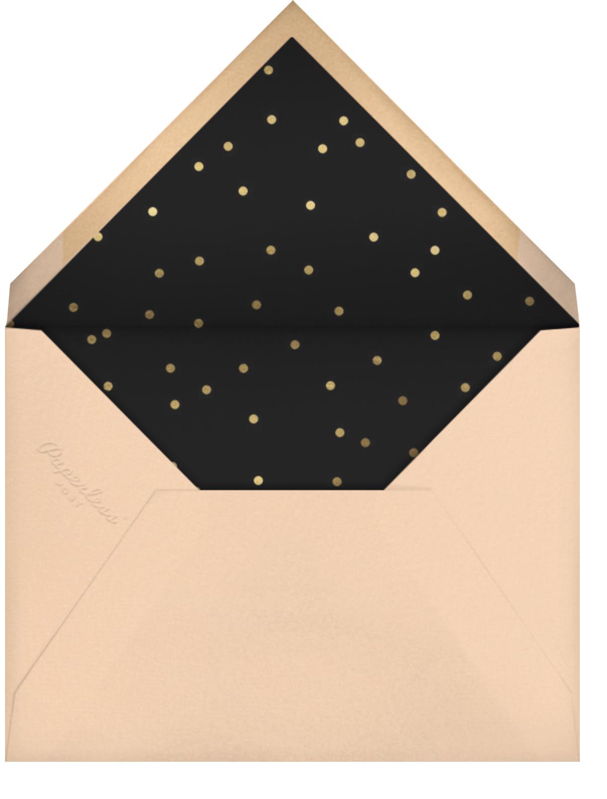 Captop - Paperless Post - Graduation party - envelope back