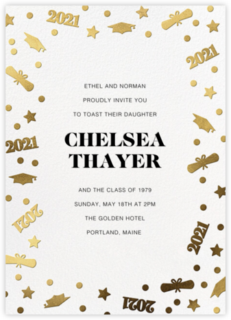 Classy Confetti - Paperless Post - Online Party Invitations