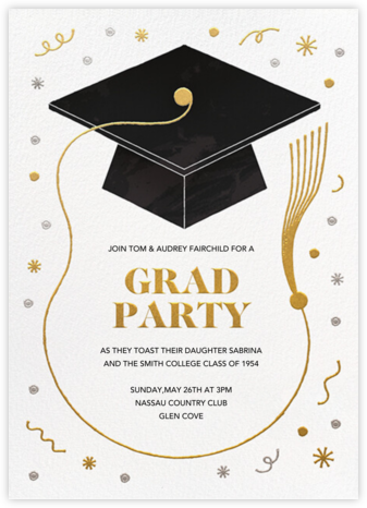 Tassel Frame - Paperless Post - Online Party Invitations