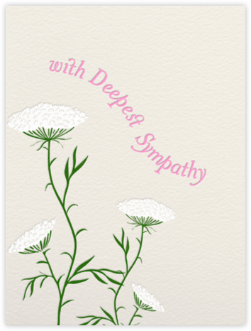 Queen Anne's Lace (Cream) - Paperless Post -