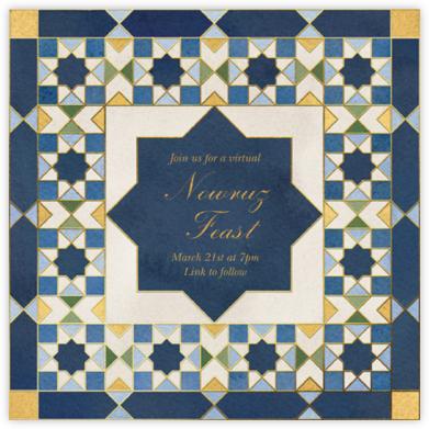 Mosaic Beauty - Paperless Post - Nowruz Invitations