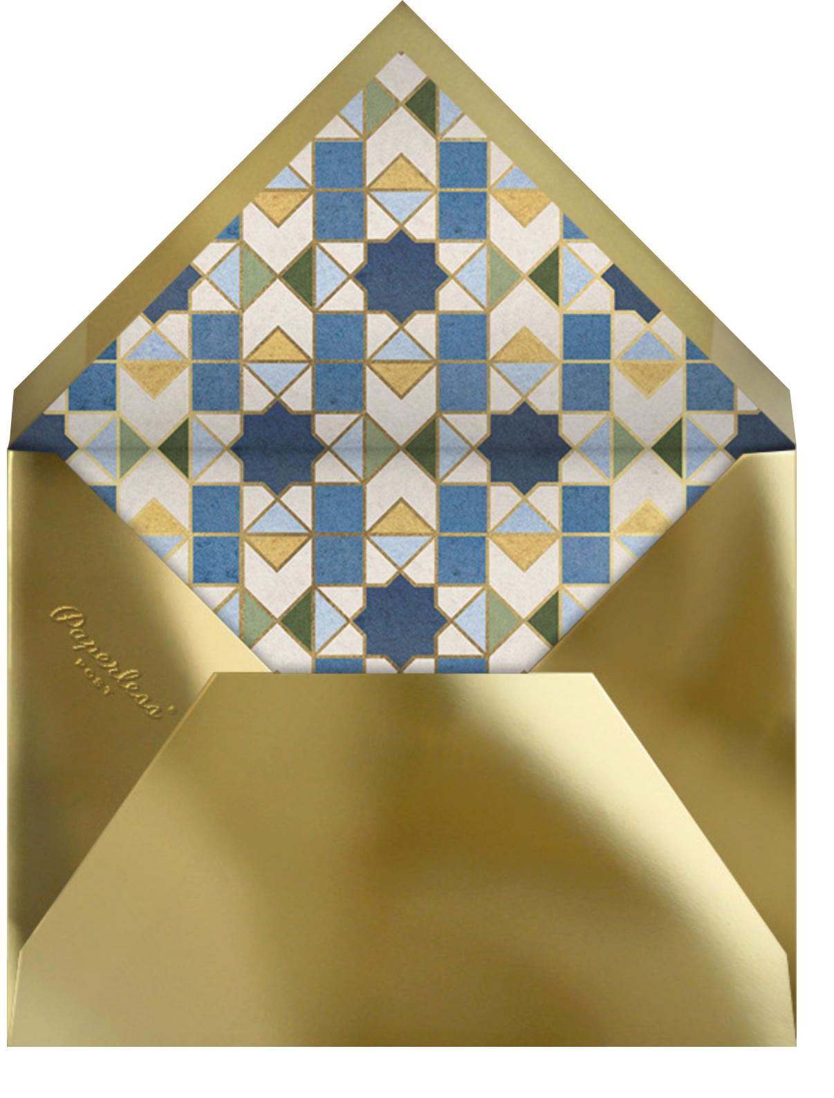 Mosaic Beauty - Paperless Post - Envelope