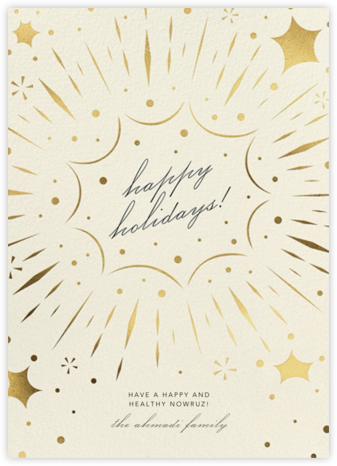 Bursting with Joy - Cream - Paperless Post -