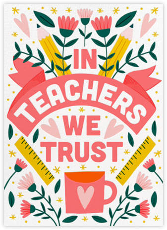 Trusty Teacher - Hello!Lucky -