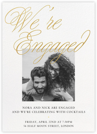 Grand Plans Photo - Paperless Post - Engagement party invitations