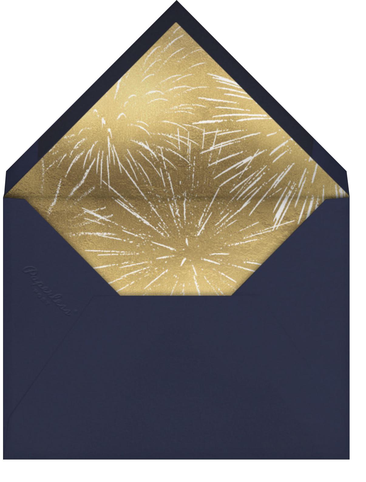 Bonfire - Paperless Post - Envelope