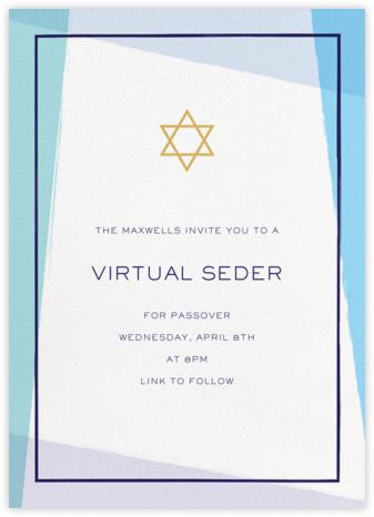 Tekhelet - Millet - Paperless Post - Passover invitations
