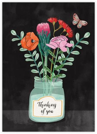 Jar Flowers (Bodil Jane) - Red Cap Cards -