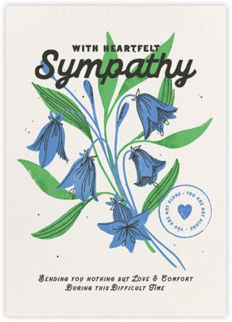 Heartfelt Sympathy (Dylan Mierzwinski) - Red Cap Cards -