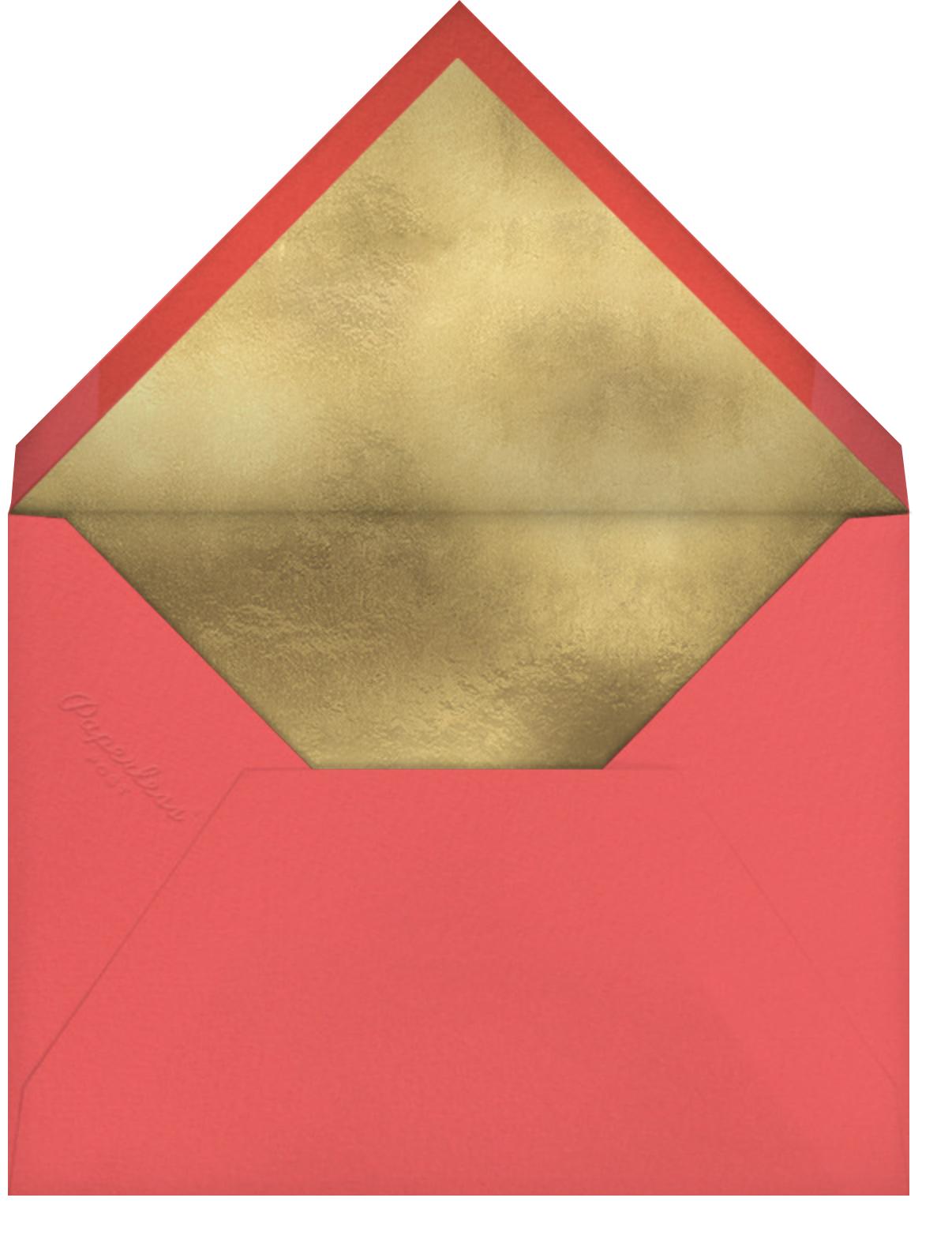 Grateful Foliage (Danielle Kroll) - Red Cap Cards - Thank you - envelope back